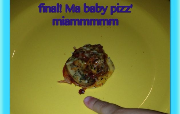 Baby pizz' by Nour