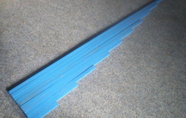 Montessori : les barres bleues