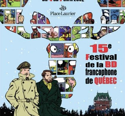 The poster, drawn by Ted Benoit, for the 15th edition of the FBDFQ