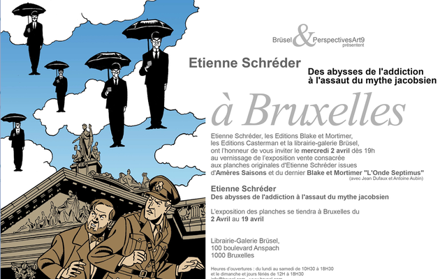 The exhibition devoted to Étienne Schréder at Perspectives Art 9