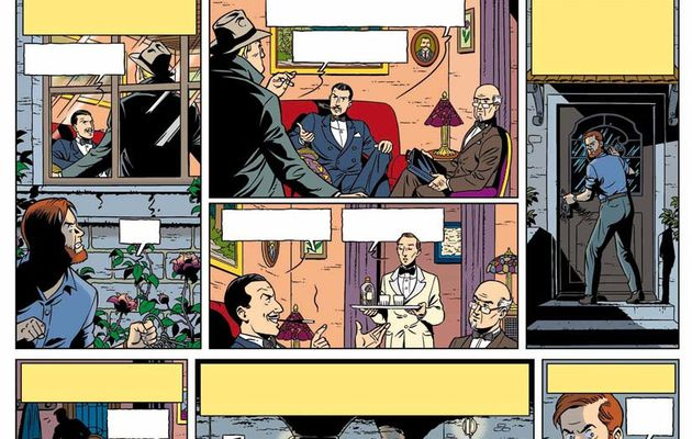 The Blake and Mortimer test page by Christophe Alvès