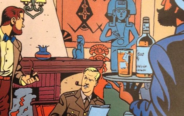 Les Cocktails de Blake et Mortimer, 30 drinks by Claire Dixsaut!