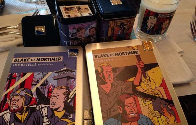 The new Blake and Mortimer merchandising items out in October!