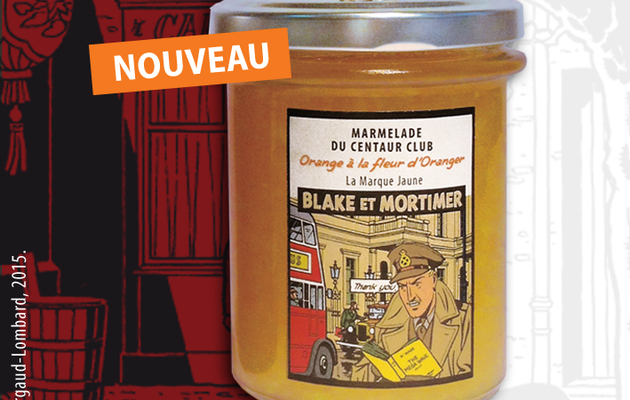 Blake & Mortimer will have their own marmelades, coming soon and created by Akimoff