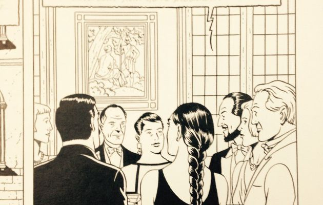 New inked panel from The Will of William S. and new plot details from Blake & Mortimer 25 revealed