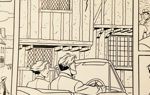 Mortimer drives in old streets in a new panel from The Will of William S.
