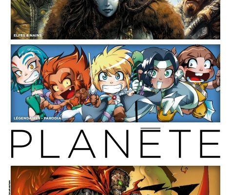 Les Légendaires - PARODIA en couverture du Delcourt Planète N°82 (+ 1 planche inédite)