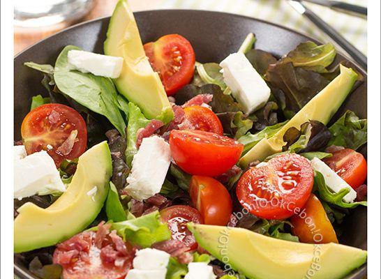 Salade composée pour mon déjeuner
