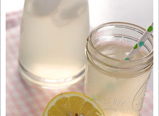 Sirop de citron maison au thermomix