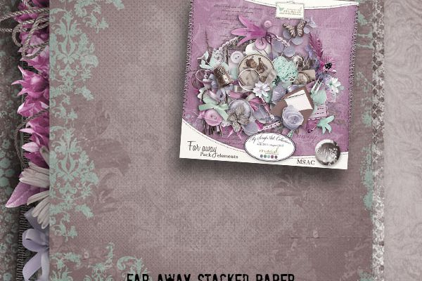 FREEBIE *** Far Away Delph *** Stacked paper FREEBIE *** ADDONMAKER *** PREVIEWMAKER