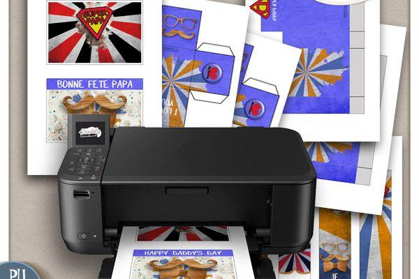 Fête des Pères - cadeaux et goodies à imprimer