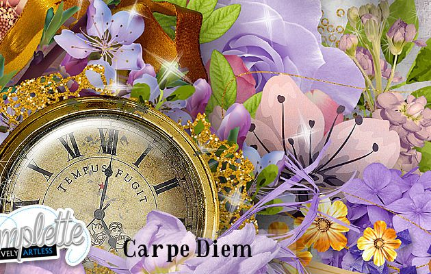 """Carpe Diem"" new collection / kit / addons / freebies"