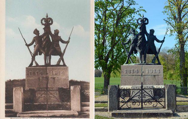 La Ferme d'Hurtebise - Monument (Chemin des Dames)