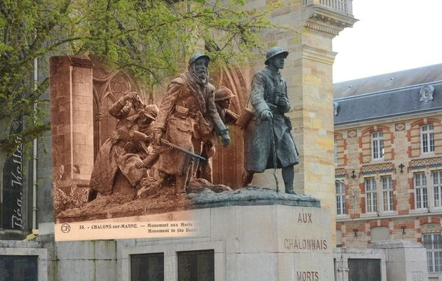 Châlons-en-Champagne : La Dernière Relève - Monument aux Morts