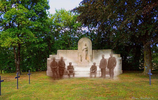Saint-Etienne-à-Arnes : Le Cimetière Allemand et son Monument