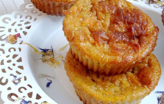 Petits gâteaux sucrés Carotte & Cannelle {Recette Light}