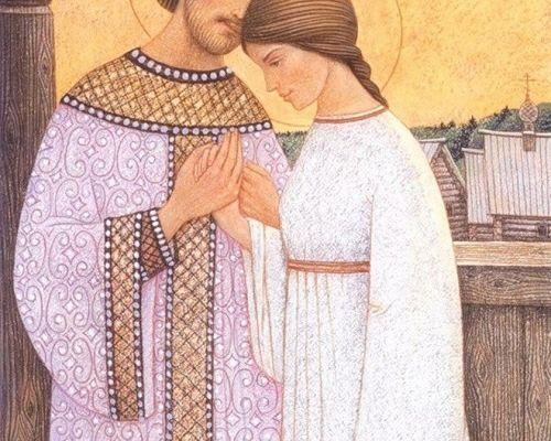 Sfintii Petru si Fevronia de Murom, patroni ai casatoriei si fidelitatii