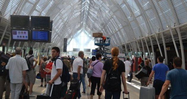 La nouvelle gare de Montpellier St Roch