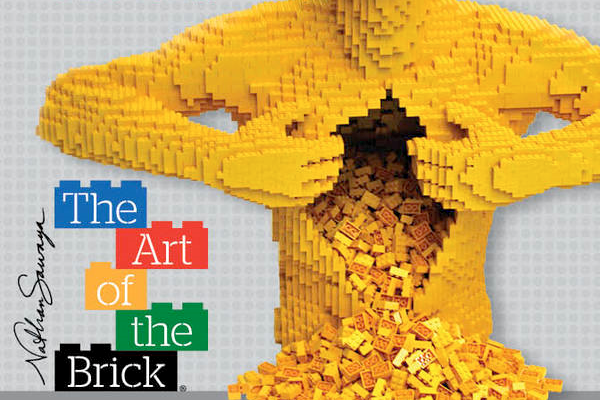 The Art of the Brick, les étonnantes sculptures en LEGO de Nathan Sawaya