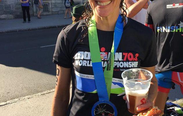 Victoire de la triathlète Nicole Best à l'IRONMAN 70.3 en Autriche