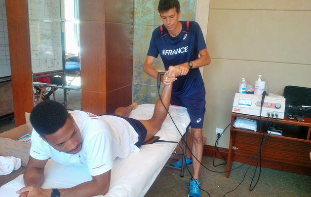 Le sprinter Emmanuel Biron récupère avec la Thérapie Cellulaire Active