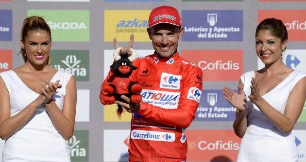 Le cycliste Joaquim Purito Rodriguez enflamme le Tour d'Espagne