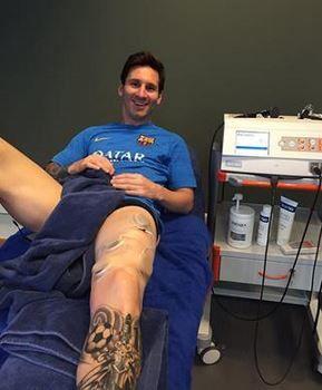 Lionel Messi + INDIBA = Invincible