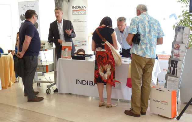 INDIBA activ au congrès GYN Monaco