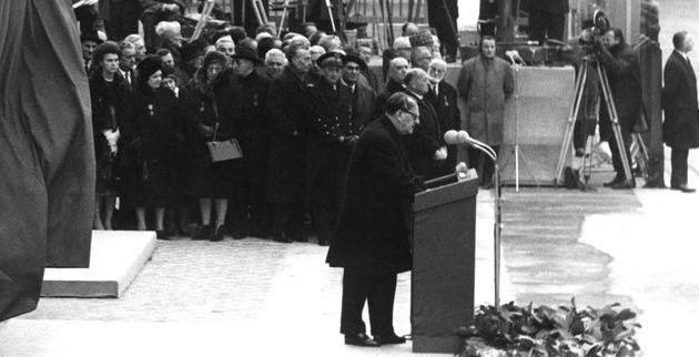 Jean Moulin entre au Panthéon : le discours d'André Malraux