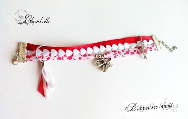 3 petits bracelets (Lydie, Charlotte et Annabelle)