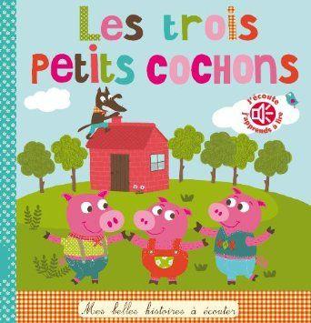 Ma puce a lu Les trois petits cochons de Isabelle Chauvet, Marie Delhoste