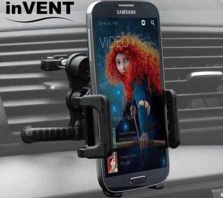 J'ai testé le Support Téléphone Universel Grille d'Aeration InVENT [MobileFun]
