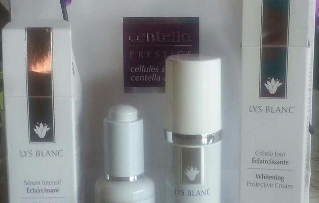 J'ai testé la Crème Jour et le Sérum Intensif Eclaircissants Gamme Lys Blanc Centella [Co-Créatrices] 4 mois plus tard...