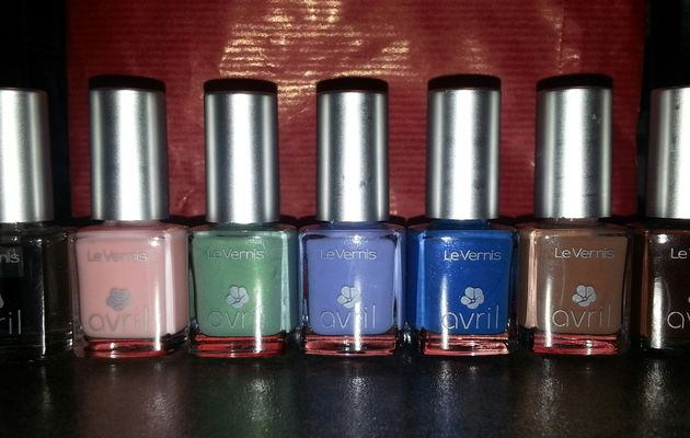 Mes petits vernis Avril