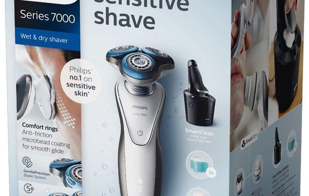 Le rasoir / tondeuse / brosse nettoyante série 7000 pour homme de Philips