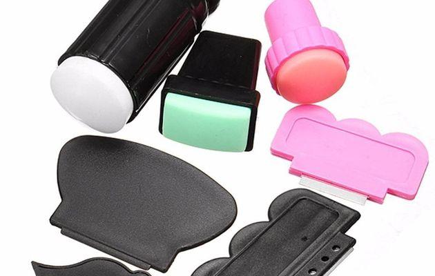 Le kit nail-art Stamper (tampons) de DancingNail