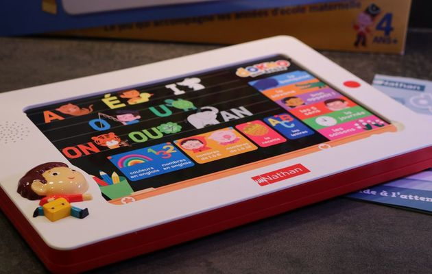 La tablette éducative Mon école Dokeo de Nathan