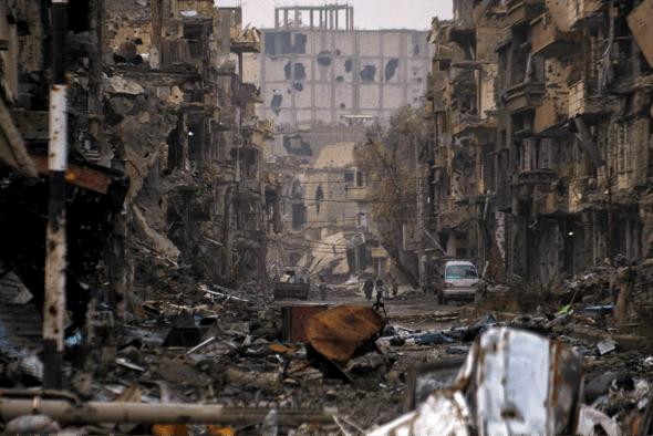 Les villes détruites