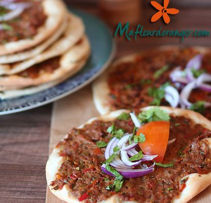 Lahmacum : Pizza turque