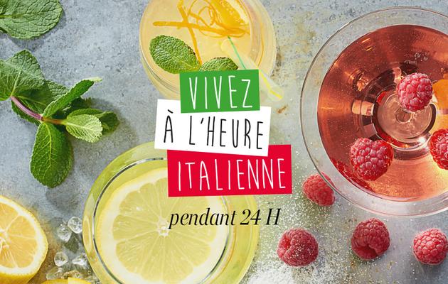 Vivez à l'heure Italienne pendant 24h avec Carrefour !