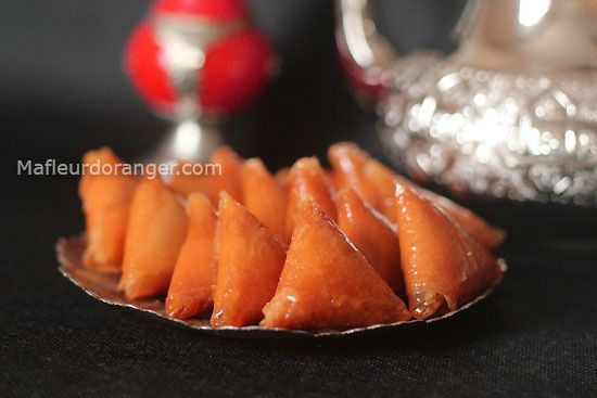 Recettes spéciales ramadan : Briouates au cacahuètes et miel