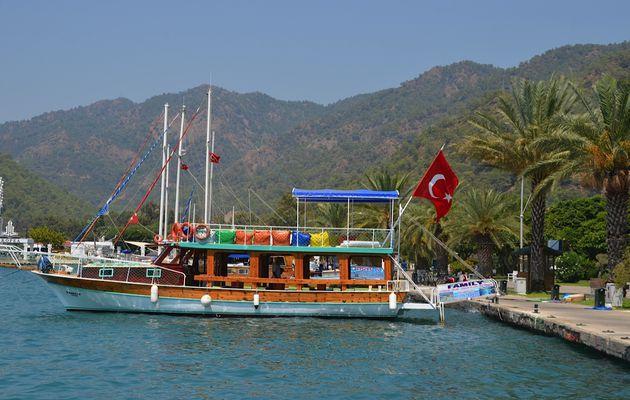 Au départ d'Istanbul :  sud de la Turquie (1) Gökova - Akyaka - Dalyan