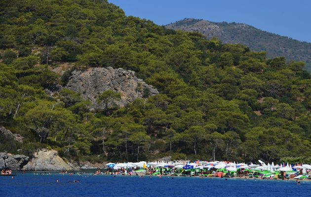 Voyage au Sud de la Turquie (2) de Fethiye à Antalya.