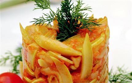 Kashkarikas, pelure de courgettes : cuisine sépharade d'Istanbul