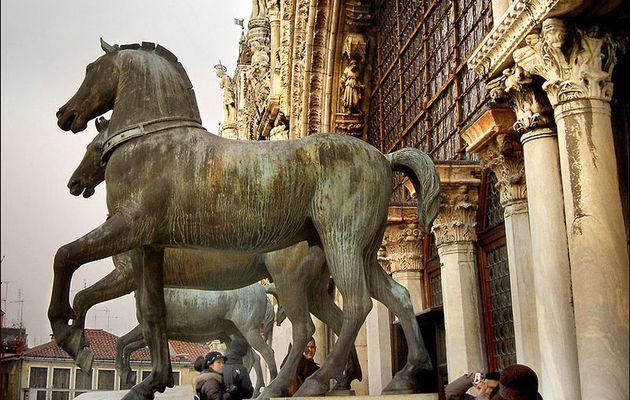 Constantinople, Paris, Venise pour les chevaux de Saint-Marc