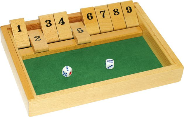 "Jeu de calculs ""Shut the box"""