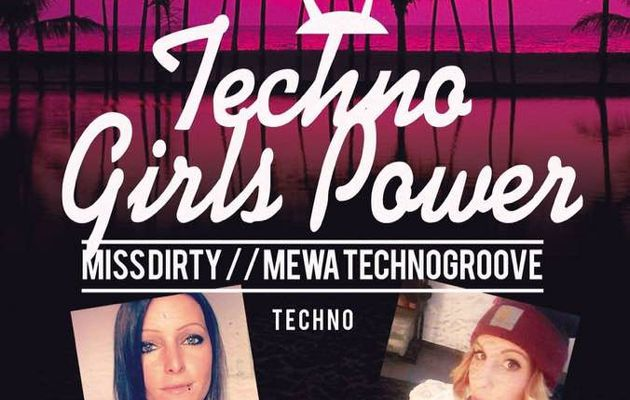 #Techno Girl Power @Live Café !