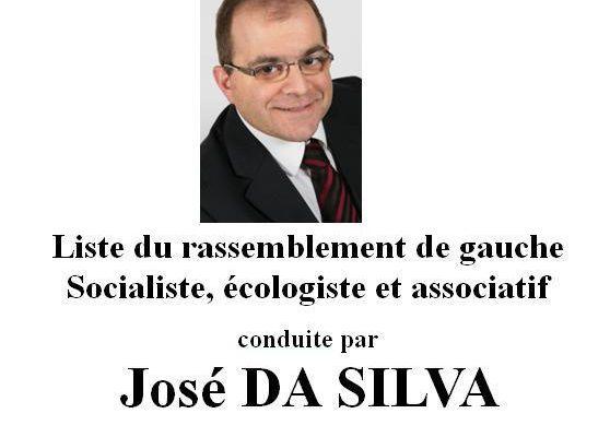 Liste du rassemblement de gauche, socialiste, écologiste, associatif et citoyen