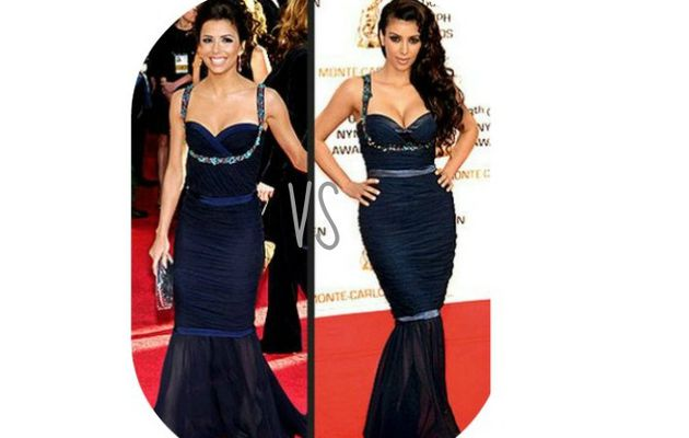 Battle de Look ! : Eva Longoria VS Kim Kardashian !