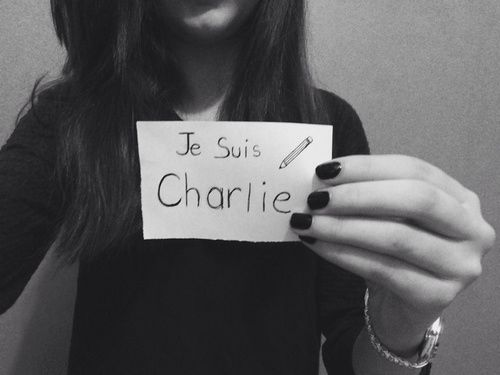 Nous Sommes Charlie.